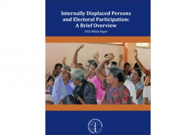 Internally Displaced Persons and Electoral Participation: A Brief Overview Featured Image