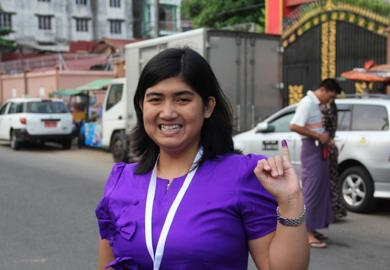First-Time Voter, Thundar Myo Nyunt, Myanmar Featured Image