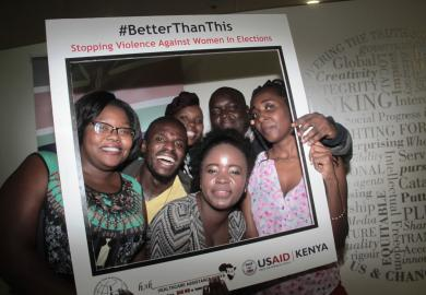 """Kenyans Say """"We are #BetterThanThis,"""" Aiming to Support Women's Participation in Elections featured image"""