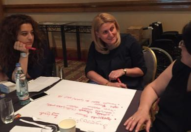 IFES Conducts Training in Tbilisi on Inclusion of Persons with Disabilities Featured Image