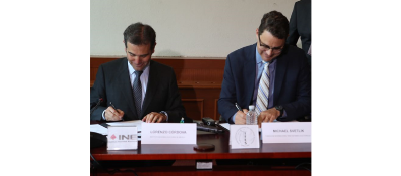 MoU Strengthens Collaboration with Mexico's National Electoral Institute featured image