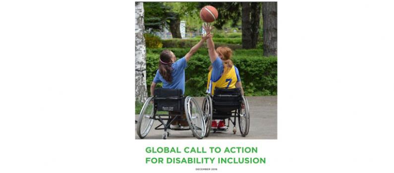 "IFES Signs ""Global Call to Action for Disability Inclusion"" Featured Image"