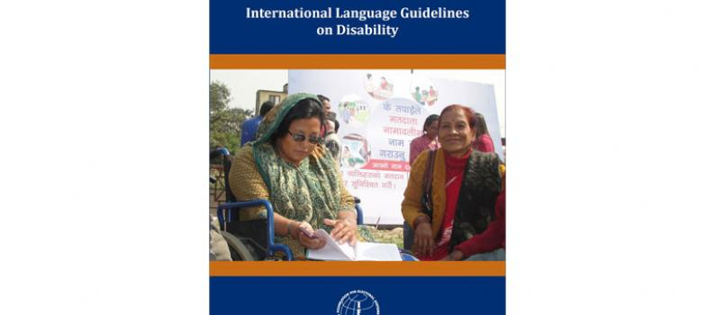 International Language Guidelines on Disability Featured Image