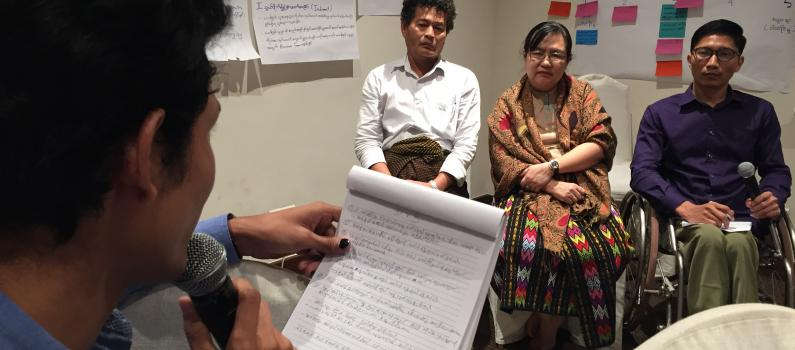 Training Myanmar DPOs on Disability Rights, Media, and Elections featured image