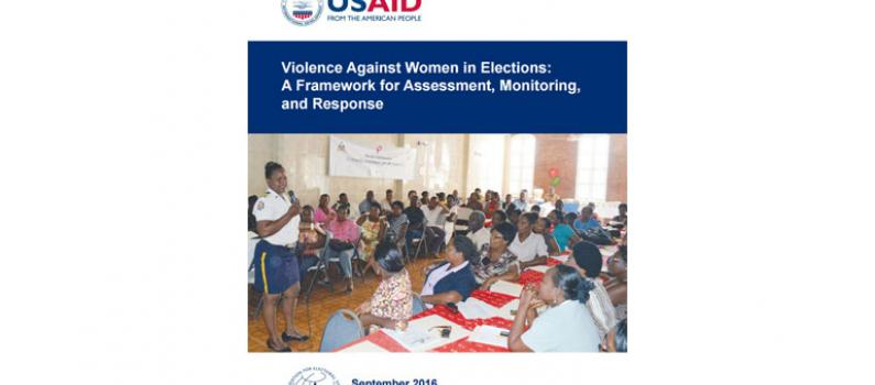 Violence Against Women in Elections Featured Image