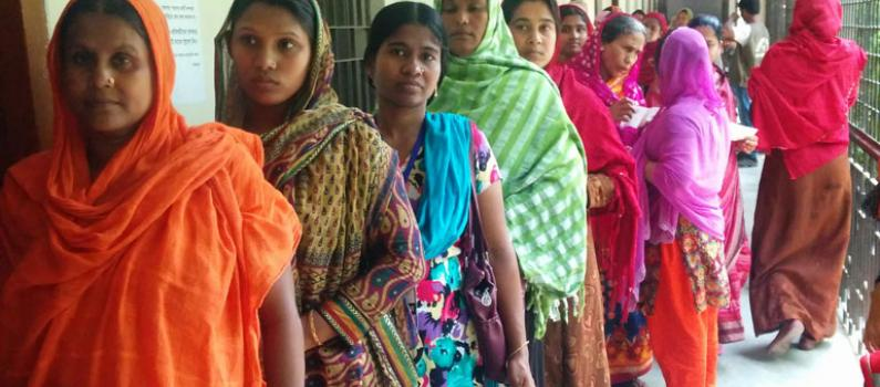 Women Voting in Dhaka City Corporation Election featured image